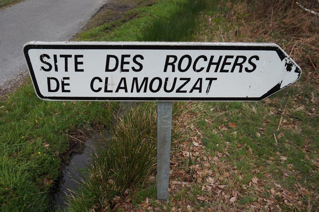 Les rochers de Clamouzat